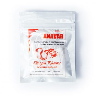 Anavar 50mg/tab 100 tabs - Dragon Pharma