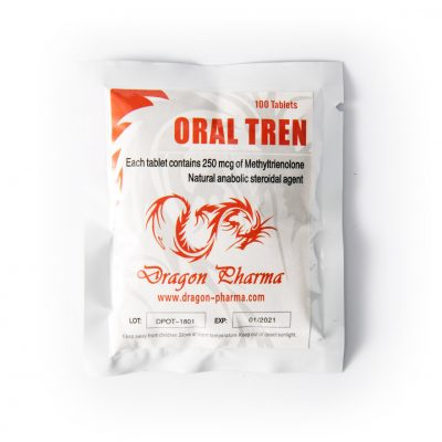 Oral Tren 25mcg / onglet 100 - Dragon Pharma