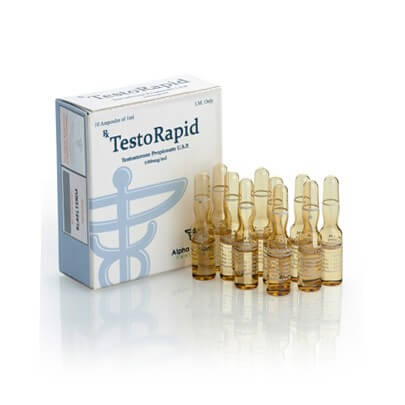 Testostérone de propionate injectable par Alpha Pharma