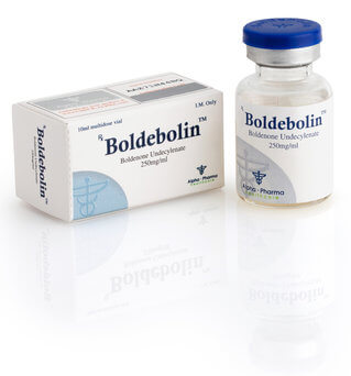 Boldenone injectable par Alpha Pharma